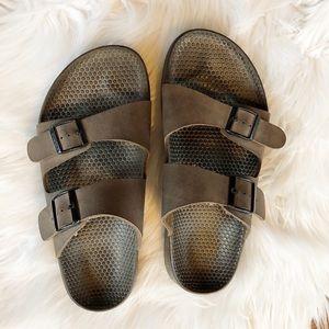 Birkenstock Men's Brown Sandals